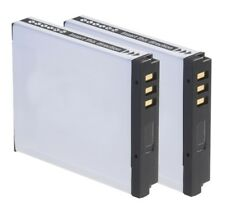 2x batería nb-6l de 850 mAh para Canon IXUS 80 85 90 95 PowerShot sx260 sx240 sx280