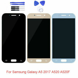 For Samsung Galaxy A5 2017 A520F SM-A520F/DS AMOLED LCD Touch Screen Replacement