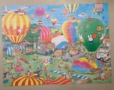 Jumbo Brand Jan Van Haasteren Nijntje Balloon Festival 950 Piece Puzzle Used