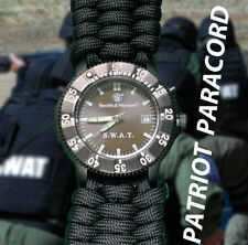 SWAT Tactical Smith & Wesson Watch Face with Paracord Watch Band