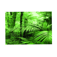 Aquarium Background   Tank Adhesive Poster Rain Forest Sticker 61x30cm