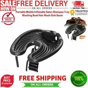 Portable Mobile Inflatable Salon Shampoo Tray Washing Bowl Hair Wash Sink Basin
