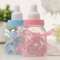 6/12/24x Item Bottles Candy Box Baby Shower Hot Party Favour Chic