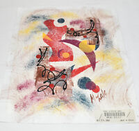 Abstract Painting THE JITTER BUG Original Acrylic on Canvas 12 x 10 Signed Art