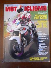 Motociclismo n°1 1994 Ducati 916 Yamaha FZR 600R Honda RC 45  [P31]
