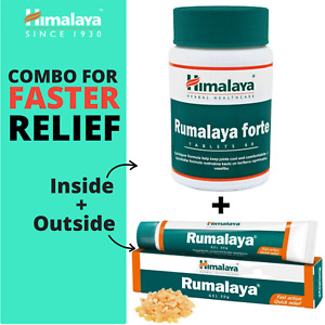 Himalaya RUMALAYA COMBO (FORTE + GEL) For Inside & Outside FASTER Joint Relief
