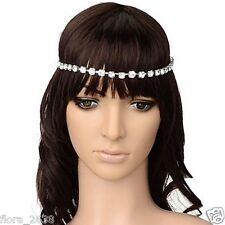 Cheveux Headband, serre tête bandeau accessoires, STRASS blanc, Bijoux fantaisie