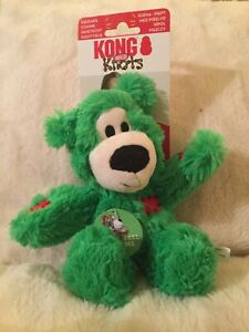 Kong holiday wild knots bear small/medium