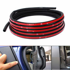 13FT Universal Auto CAR Rubber EDGE DOOR SEAL Weatherstrip SUV Small D-Type TRIM