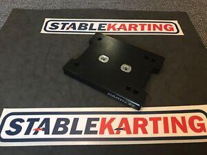 Go Kart - Kartech Engine Mount Slide Top Part Flat Aluminium