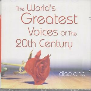 The Greatest voices of the 20th Century  - Disc 1 CD 052