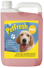 5L Bubblegum PET cattery Kennel DISINFETTANTE Deodoriser CLEANER Fresco Odore DOG