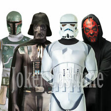 Morphsuit Star Wars Darth Vader Maul Stormtrooper Boba Fett Fancy Dress Costume