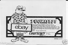 COURTENEY HOTEL SALISBURY,RHODESIA AFRICA 1976 TOURISTS! COTTAGE PIE CAFE AD