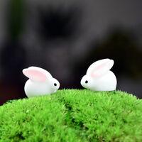 Mini Kaninchen Garten Harz Miniatur Garten Figur Micro Landschaft sp
