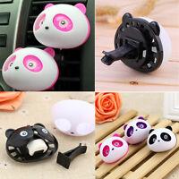 Cute Panda Auto Car Air Freshener Clip Perfume Diffuser for Car Fragrances AU