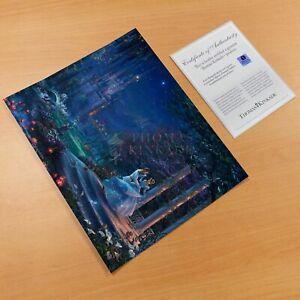 Thomas Kinkade Studios Cinderella Dancing In The Starlight 11 x 14 Art Print