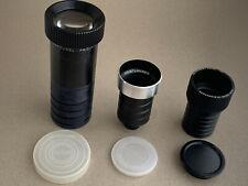 lot Projector lens Voigtländer Talon 50mm Heidosmat 85mm Projar 150mm Carousel