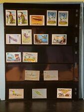 Maldives Republic Aircraft & Aviation Stamps Lot of 18 MNH  - See List