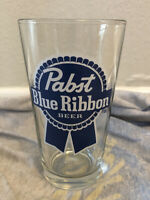 Pabst Blue Ribbon PBR Pub Bar Pounder Beer Glass- Combined Shipping