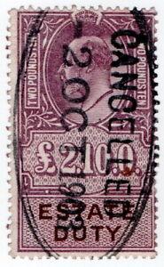 (I.B) Edward VII Revenue : Estate Duty £2 10/-