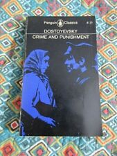 VINTAGE Crime and Punishment Dostoyevsky (1966 Paperback) Penguin Classics