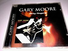 GARY MOORE - Dirty Fingers - CD - Original Recording Remastered OOP No Scratches