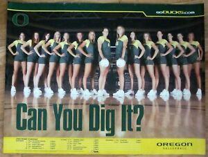 Oregon Ducks Volleyball Team 2004 Season Poster