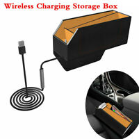 5/7.5/10W Qi Wireless Charging Storage Box Car Central Control Seat Gap Seams