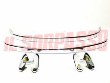 Front Bumper+Rear + Beak Fiat 600 + D Double Plating 45 Micron