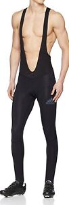 Adidas Climawarm Padded Winter Bib Tight Black Cycling Mens Size Large BQ3714