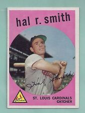 1959 Topps #497 Hal Smith St. Louis Cardinals NM
