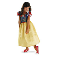 Snow White Costume by Disguise Medium 7-8 NEW Princess Costume Disney Halloween