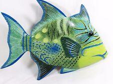 """Tropical Reef Queen Trigger Fish Sea Life Wall Art 8""""(TF8-8)"""