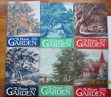 the home garden LOT OF 6 1944