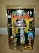 SPAWN~CLOWN~ACTION FIGURE~SPECIAL EDITION COMIC BOOK~SERIES 1 TODD MCFARLANE~NEW