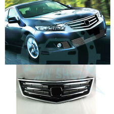 Chrome Front Bumper Center Vent Hood Grille For Honda Acura TSX 2009-10 YU