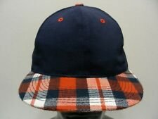 b3e1d8baba4 BLUE & PLAID - OTTO BRAND - ONE SIZE ADJUSTABLE SNAPBACK BALL CAP HAT!