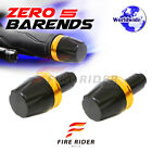 FRW Gold Ring CNC Bar Ends For Yamaha YZF R6 06-13 06 07 08 09 10 11 12 13