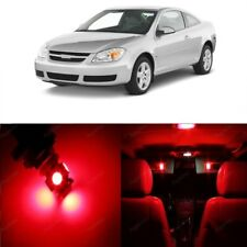 10 x Red LED Interior Light Kit For 2005 - 2010 Chevrolet Chevy Cobalt + TOOL