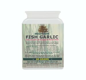 MULTI-MITE Fish Garlic 100% - Tropical or Marine Fish Feed additive