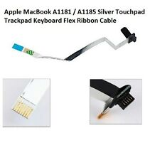 Apple MacBook A1181 / A1185 Silver Touchpad Trackpad Flex Ribbon Cable Keyboard
