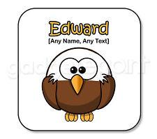 Personalised Gift Bald Eagle Bird Animal Coaster Novelty Fun Present Idea Square