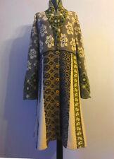 IVKO Wool Cardigan Strick Strickjacke Mantel Size 42