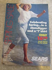 SIMPSON SEARS Spring Sale 1990 Catalog Department Store Canada Book