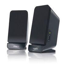 Creative A60 SBS 2.0 Desktop Speaker - Black 2.0 System, 2x Satellite Speakers