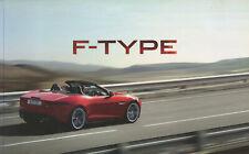 CAR BROCHURE - JAGUAR F-TYPE - JANUARY 2013