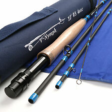 Nymph 10FT 3Weights 4Sections Fly Rod Fast Action Fly Fishing Rod For Dapping