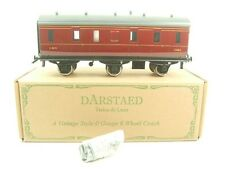 Darstaed O Gauge LMS Period 3 Unlined Six Wheel Stove Coach RN 33003 B/New Boxed