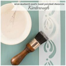 Miss Mustard Seed's Milk Paint hand painted STENCIL mms 01 Kimbrough - reusable